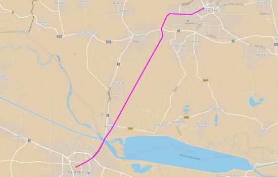 Varazdin-Cakovec 14km 2013