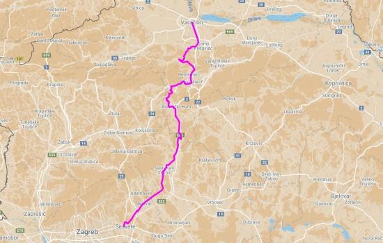 Varazdin-Sesvete 2013 90km