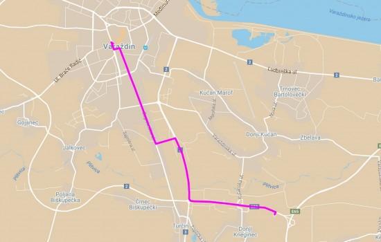 Varazdin CP 2013 9km